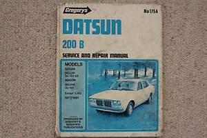DATSUN 200B WORKSHOP MANUAL 1977 TO 1981 Unanderra Wollongong Area Preview