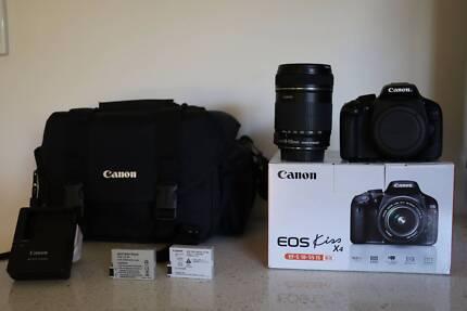 Canon EOS Kiss X4 / 550D  DSLR CAMERA, EFS 18-135mm lens Sunnybank Hills Brisbane South West Preview