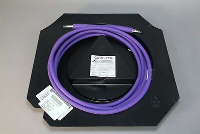 Gore - Tex Microwave Coaxial Cable Assembly X3s01s012250 18 Ft Sma Male - New