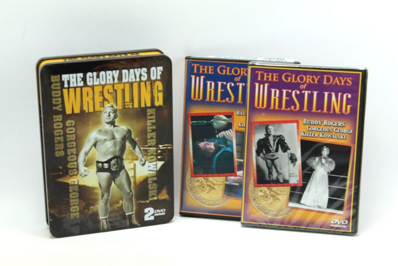 The Glory Days of Wrestling 2 DVD Tin Box Set Gorgeous George Rocco Nature Boy