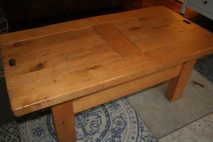 Handmade Solid French Oak Coffee Table Avalon Pittwater Area Preview