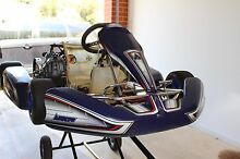 CHEAP! 125cc Rotax ARROW AX9{30/32} frame go kart tuned by IWT!! Mawson Lakes Salisbury Area Preview