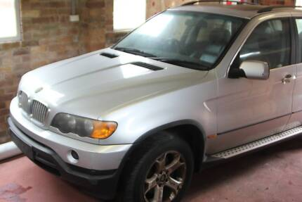 2003 BMW X5 E53 4.4i Silver - Good for wrecking Vaucluse Eastern Suburbs Preview