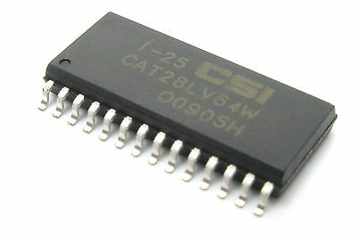 On Semiconductor Cat28lv64wi 25 Ic Eeprom Memory Chip  26Pc Tube