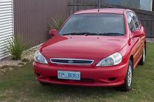 2002 KIA RIO - Super LOW KMs. Ideal First Car Newnham Launceston Area Preview