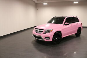 2013 Mercedes Benz GLK-Class HOT PINK