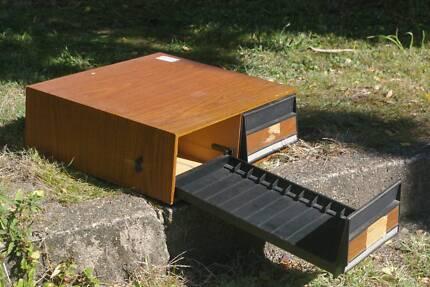 Video Tape Cassette Storage Drawer Cabinet