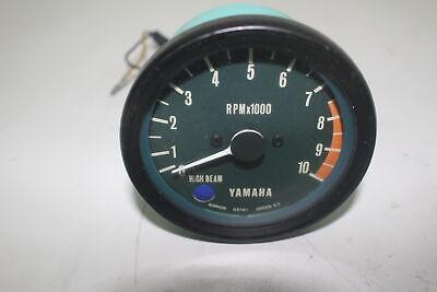 1977 Yamaha XS750 TACHOMETER GAUGE METER  TACH
