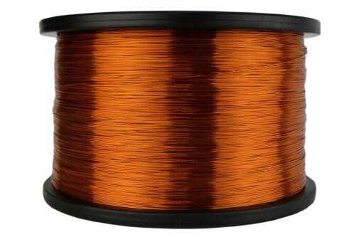 TEMCo Magnet Wire 25 AWG Gauge Enameled Copper 5lb 4975ft 200C Coil Winding