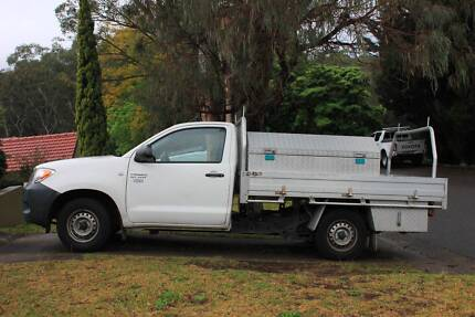 2008 Toyota Hilux Ute with Tool Boxes and Ladder racks Oatley Hurstville Area Preview