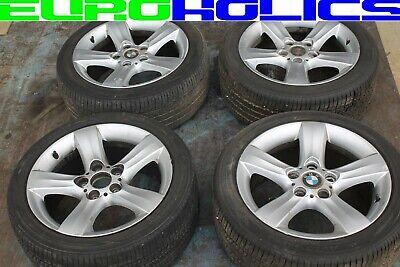 "SET 4 OEM BMW E46 325i Style 119 Wheels Rims w/Tires 17"" 17x8 225/45/17"