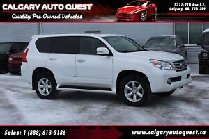 2013 Lexus GX 460 Executive 4X4/NAVI/B.CAM/3RD ROW/LEATHER/ROOF