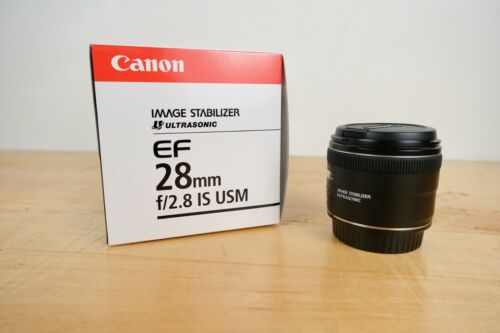 Canon EF 28mm f/2.8 EF Lens - Slightly Used but nibby, In Box