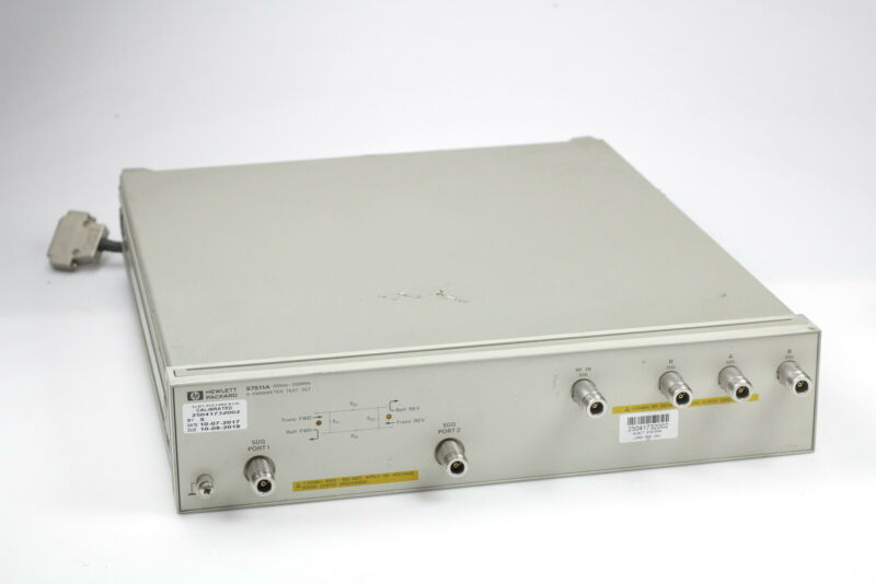 HP 87511A S-Parameter Test Set 100 kHz to 500 MHz