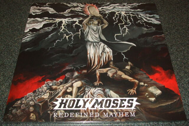 HOLY MOSES-REDEFINED MAYHEM-2014 2xLP+CD-CLEAR VINYL-LIMITED TO 100-NEW & SEALED