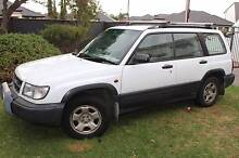 1999 Subaru Forester Wagon Limited - 5 speed manual Port Noarlunga South Morphett Vale Area Preview
