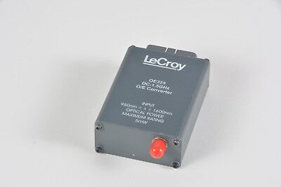 Teledyne LeCroy OE325 O/E (Optical to Electrical) Converter DC-1.5GHz 950nm 5mW