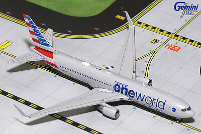 Gemini Jets American Airlines Boeing 767-300ER GJAAL1680 1/400 REG# N343AN. New