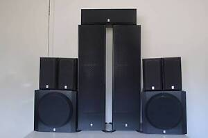 YAMAHA QUALITY HT SERIES NS50F SPEAKER PAIR, 5.1 OR 7.1 FOR SALE Chadstone Monash Area Preview