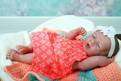 "Baby Girl Doll Realistic Reborn Berenguer 15"" Vinyl Lifelike"