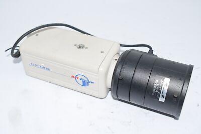 Arcvision Ccd Camera 775f Ac 24vdc 12v Rainbow L5-50mm 11.45 Cs Dc-iris Lens