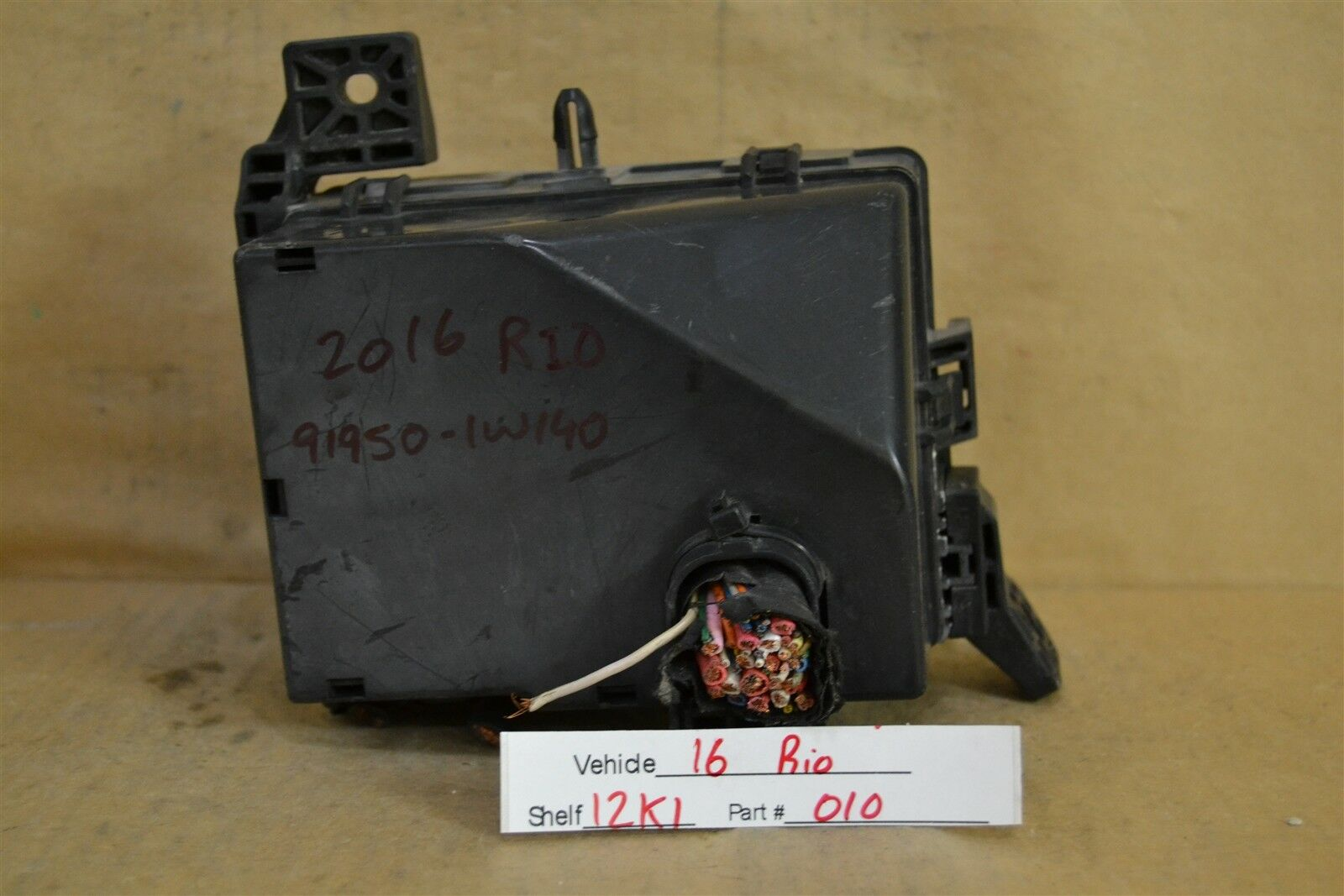 Used Kia Rio Computers Chips Cruise Control And Related Parts For Sale Fuse Box 2004 2014 Relay Unit 919501w140 Module 2010 12k1