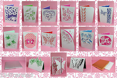 CRAFT ROBO/SILHOUETTE Butterfly card & insert templates by cocopopart CD152