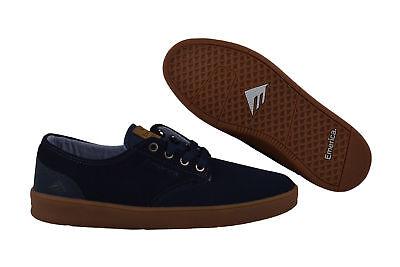 Dark Gum Schuhe (Emerica The Romero Laced dark blue/gum Skater Sneaker/Schuhe blau)