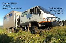 4X4 Expedition Camper 4 Berth Dual Cab 2005 Canter Low Ks Bangalow Byron Area Preview