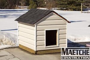 Insulated Dog House ( Maetche Construction)