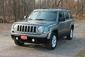 2013 Jeep Patriot Sport/North ONLY 66K | 4x4 | Sunroof | CERT...