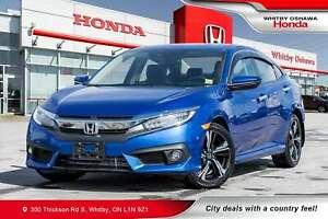 2017 Honda Civic Touring | Heated Seats, Navigation, Power Moonr
