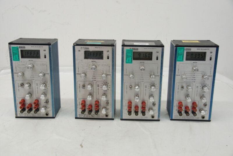 Ronan X85 calibrator test equipment calibration
