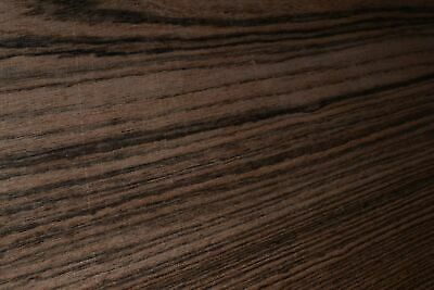 Bocote Raw Wood Veneer Sheets 7 X 41 Inches 142nd Thick   F8628-5