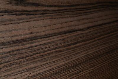 Bocote Raw Wood Veneer Sheets 7 X 41 Inches 142nd Thick   F8628-5