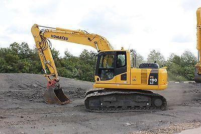 Komatsu PC1606K, PC180LC6K & PC180NLC6K Excavator - Workshop & Operators Manuals