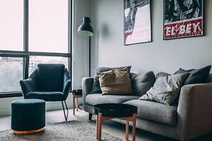 Chambre à louer dans un appartement du centre-ville tout neuf