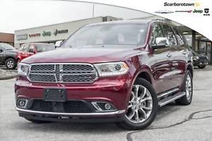 2016 Dodge Durango Citadel+CO CAR+5.7V8+NAV+SUNROOF+MORE