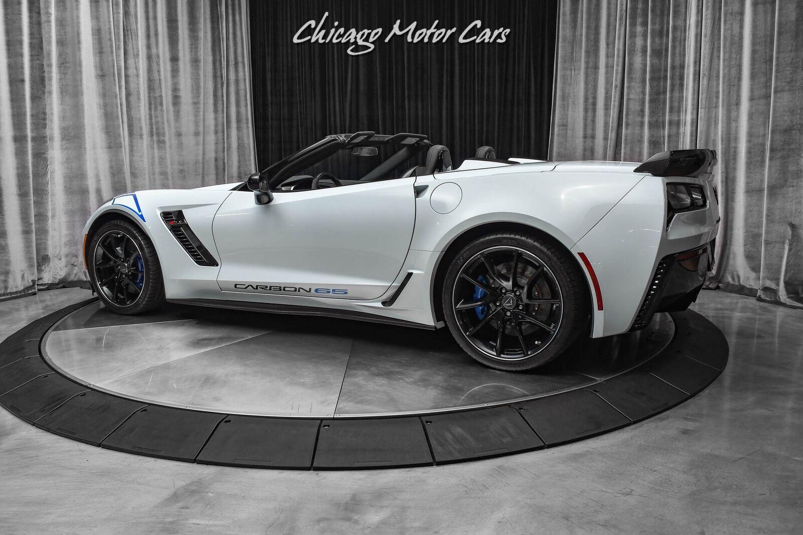 2018 White Chevrolet Corvette Z06 3LZ | C7 Corvette Photo 3