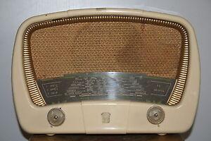 poste radio lampe radiola design vintage ann es 50 streamline ebay. Black Bedroom Furniture Sets. Home Design Ideas