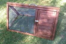 GUINEA PIG HUTCH OR BANTAM CHICKEN BROODY CAGE SNAKE PROOF WIRE Mansfield Brisbane South East Preview