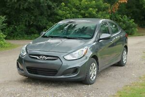 2013 Hyundai Accent L ONLY 50K | CERTIFIED