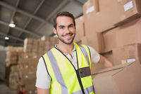 25 SHIPPING AND RECEIVING CLERK POSITIONS AVAILABLE!