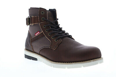 Levis Cobalt PT Lux 518548-O1B Mens Brown Leather Casual Dress Boots Shoes