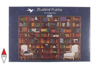 PUZZLE OGGETTI BLUEBIRD LIBRERIA THE VINTAGE LIBRARY 6000 PZ