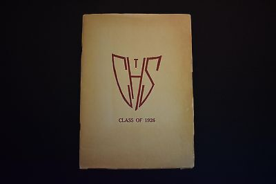 1926 The Glen Echo Codorus Township High School Glenville Pa Unsigned Yearbook
