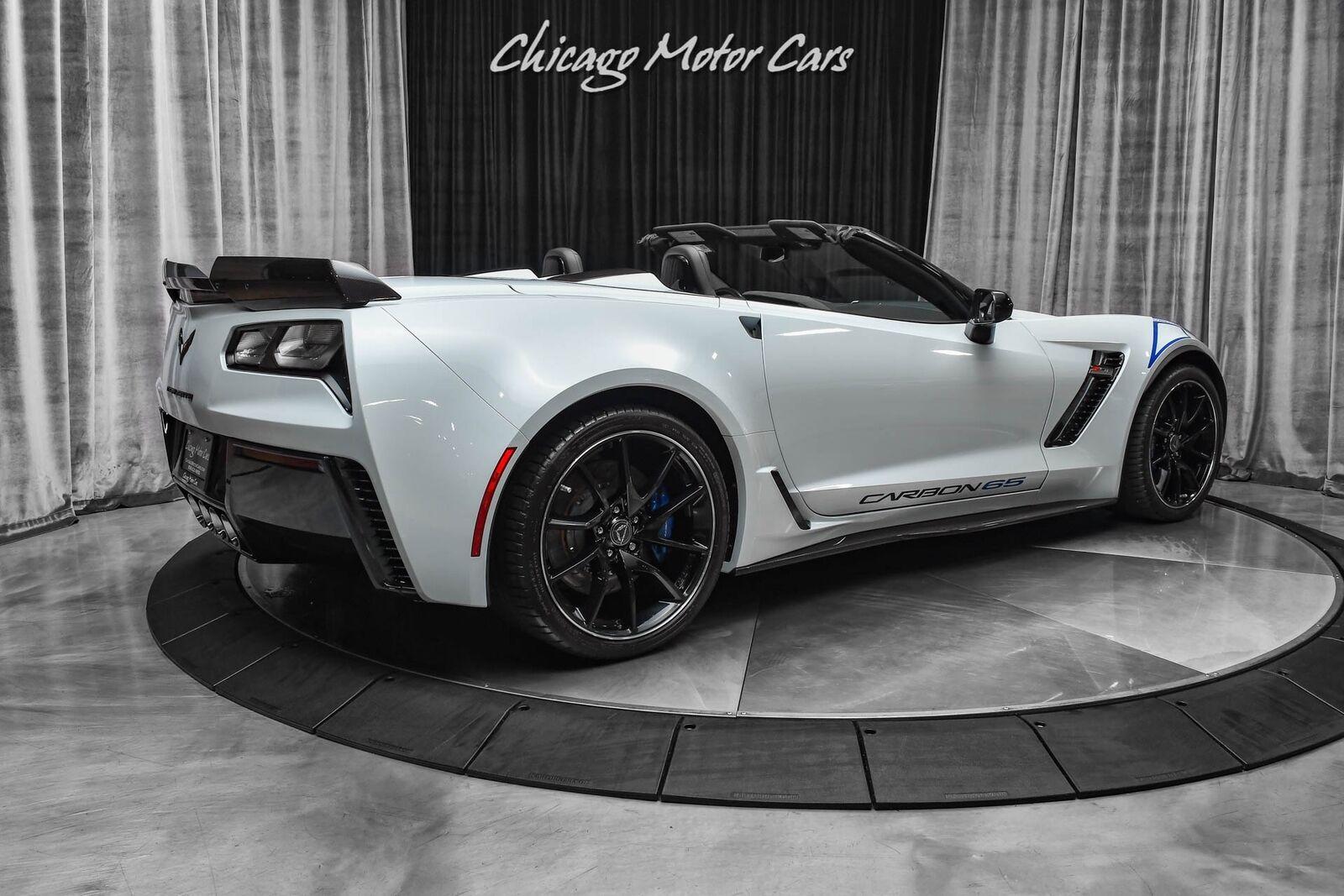 2018 White Chevrolet Corvette Z06 3LZ | C7 Corvette Photo 5