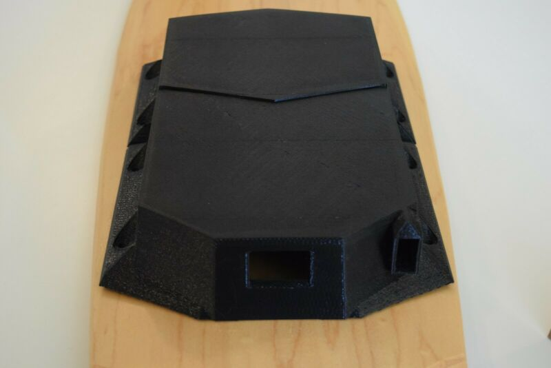 Customizable Electric Skateboard Enclosure for Battery & Electronics-Heavy-Duty