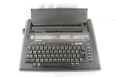 Vintage Brother Ep5 Portable Electronic Typewriter