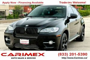 2010 BMW X6 xDrive35i BLACK EDITION | ALCANTARA| |NAVI | AWD...